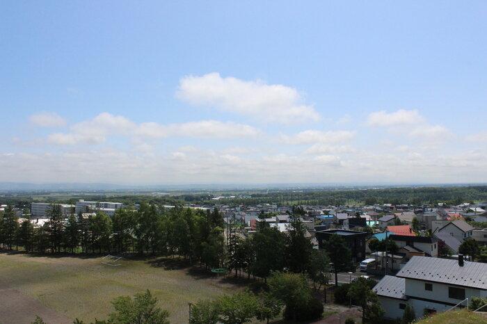 竹葉公園頂上からの眺め.JPG