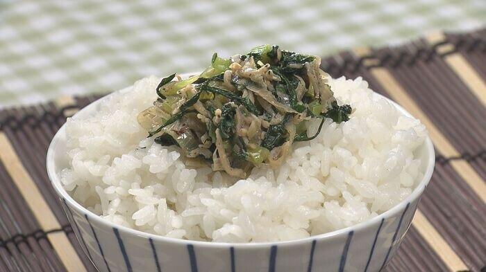 小松菜としらすの炒め物.jpg